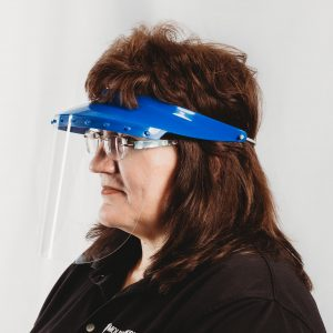 Relaxed Fit Safety Visor & Face-Shield
